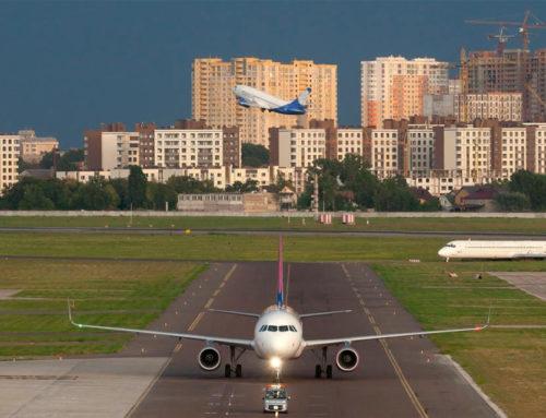 Международный аэропорт «Киев» закроют на ремонт